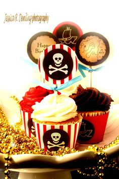 Pirate Party  PRINTABLE Birthday Party Circles / by mypartydesign, $7.00