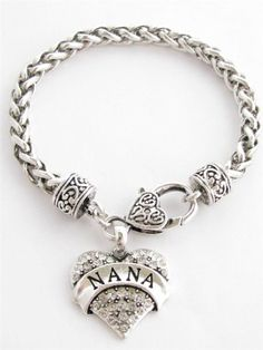 Nana Clear Crystals Fashion Lobster Claw Heart Bracelet Jewelry Sports Accessory Store http://www.amazon.com/dp/B00BXSMN80/ref=cm_sw_r_pi_dp_CE1Bub1CRWSBQ