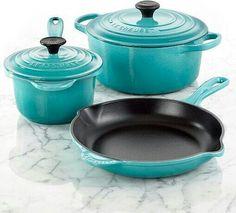 Cast iron cookware.