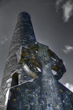 Glendalough Graveyard, Glendalough, Co. Wicklow, Leinster, Ireland
