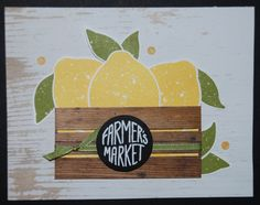 Crate of Lemons Card by stampinrachel - Cards and Paper Crafts at Splitcoaststampers