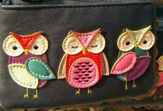 owls on a tote bag from accessorize.