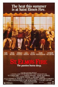 St. Elmo's Fire 27x40 Movie Poster (1985)