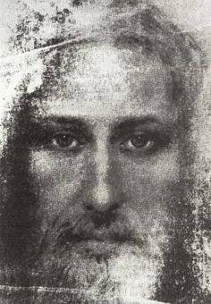 Holy Face of Jesus based on the Holy Shroud of Turin.