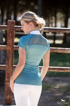 Horseware Competition Collection S/S17: Sara Competition Shirt (NEW Colour)   Ladies Competition Breeches