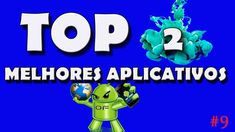 TOP 2 MELHORES APLICATIVOS PARA ANDROID #9 !!!! Smartphone, Sonic The Hedgehog, Youtube, Top, Fictional Characters, Luigi, Video Production, Crop Tee, Youtubers