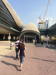 Aterrizando: Visitando el Creek Park y el Burj al Arab en Dubai...