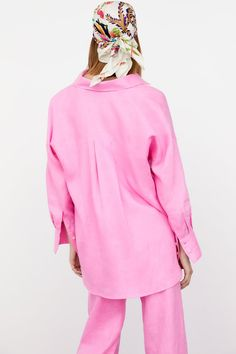 LINEN SHIRT | ZARA United States Zara United States, Bell Sleeve Top, Buttons, Long Sleeve, Sleeves, Shirts, Tops, Women, Fashion