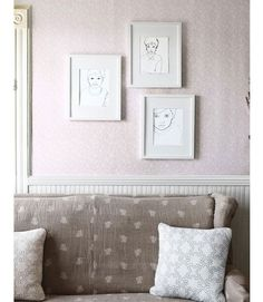 How to Make Embroidered Portraits - Tips for DIY Embroidered Portraits - Country Living