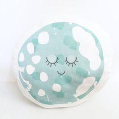 Sleepy blue moon plushie