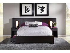 Casa Moda Wall Storage Bed   American Signature Furniture