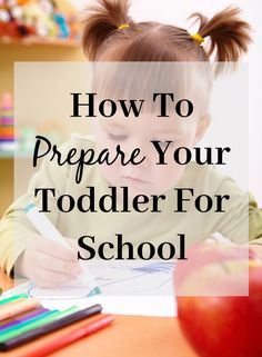 If your toddler is about to start school, there are a few things you can do to help them be prepared. This is especially true if your toddler is younger than other students entering junior kindergarten. What do they need to know? What should they be able to do? Give your toddler the best start, check out my tips on how to prepare your toddler for school.
