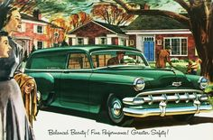 1954 Chevrolet Sedan Delivery jigsaw puzzle in Cars & Bikes puzzles on TheJigsawPuzzles.com