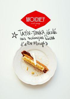 TATIN-TONKA décalée du chef Frank Renimel 1étoile au guide Michelin