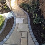 Indian Stone Paved Path