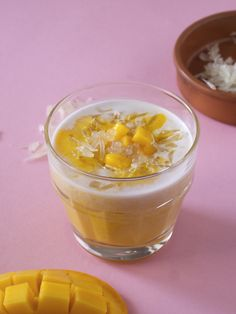 Mango pomelo sago dessert was invented by a chef from Hong Kong for his restaurant in Singapore. Served chilled, this mango dessert consists of creamy coconut milk, evaporated milk, sago and bursting citrusy pulps of pomelo. This is the dish to try for mango dessert lovers!