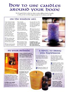 How to Use Candles Around Your Home – Witches Of The Craft®