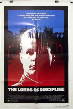 THE LORDS OF DISCIPLINE - DAVID KEITH - ORIGINAL AMERICAN ONE SHEET MOVIE POSTER
