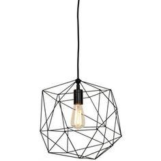It's About RoMi Hanglamp Copenhagen Zwart draadijzer