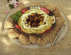 Borani Bademjan- Eggplant and Yogurt Dip | by Turmeric & Saffron