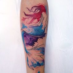 Check out these gorgeous Ariel-inspired tattoos before getting inked.