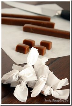 Gingerbread Caramels | The Marvelous Misadventures of a Foodie