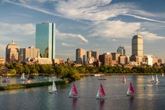 The Boston skyline from the Longfellow Bridge (© Kevin D. Jordan Photography)