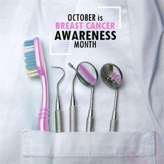 October is #BreastCancerAwareness month. #PinkOctober