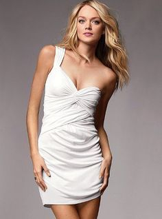 One-shoulder Dress - Victoria's Secret on imgfave