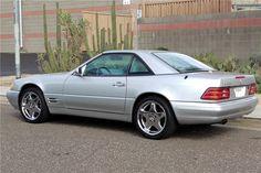 2001 Mercedes-Benz 500SL Convertible