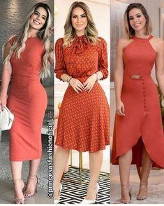 Stylish Dresses, Cute Dresses, Beautiful Dresses, Short Dresses, Classy Dress, Classy Outfits, Modest Fashion, Fashion Dresses, Look Office