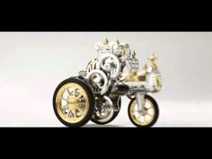 Steampunk Model Car Is Powered By A Beautiful 19th Century Air Engine