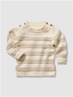 Camisola em tricot fantasia, para bebé menino