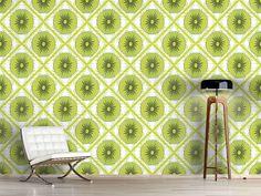 Design #Tapete Florales Kiwi Karo