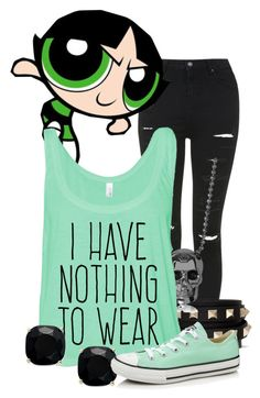 """Powerpuff Girls: Buttercup"" by murphylovesturtles ❤ liked on Polyvore"