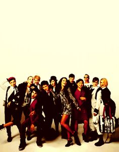glee cast love this show!