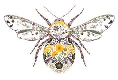 Painting Inspiration, Art Inspo, Inspiration Wall, Art Mur, Insect Art, Bee Art, Tatoo Art, Canvas Pictures, Bee Pictures