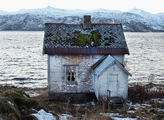 Old house at Senja, Northern Norway.