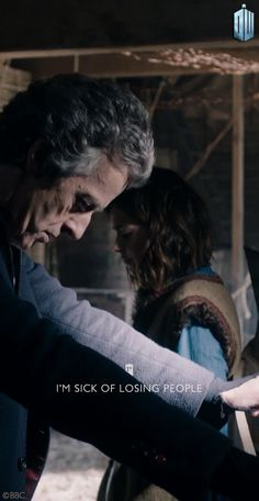 I'm sick of seeing the Doctor lose those he loves. Will he always be alone??