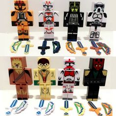 24pcs/lot mini Style Brinquedos Super Heroes Star Wars  Action Figures Model Toys Building Blocks Toy#E