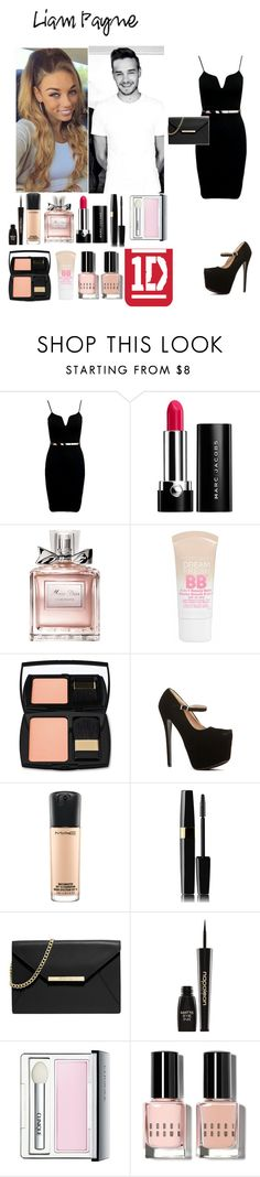 """""""Happy birthday Liam"""" by rosemie ❤ liked on Polyvore featuring Payne, Marc Jacobs, Christian Dior, Maybelline, Lancôme, MAC Cosmetics, MICHAEL Michael Kors, Napoleon Perdis, Clinique and Bobbi Brown Cosmetics"""
