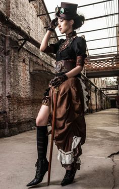 RQ-BL-Steampunk-Rock-Victorian-Pin-Up-Gothic-Lace-Tuell-Skirt-LARP-Tornuere-SP083