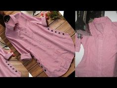 in this video you learn designer kurti shirt cutting and stitching in very easy way. you make designer kurti at home with this cutting and stitching so keep . Kurti Sleeves Design, Sleeves Designs For Dresses, Kurta Neck Design, Neck Designs For Suits, Dress Neck Designs, Linen Dress Pattern, Dress Sewing Patterns, Design Your Own Dress, Stitching Dresses