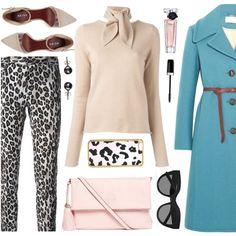 How To Wear My Blue Coat Outfit Idea 2017 - Fashion Trends Ready To Wear For Plus Size, Curvy Women Over 20, 30, 40, 50