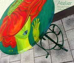 Upcycling: Bistrotisch Poppy