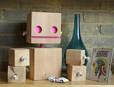 XL block bot pink - etsy | by William Dohman