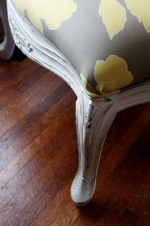 Confessions of a DIY-aholic: French chair redo, and DIY chalk paint