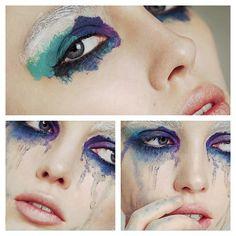 makeupbysarahill:  #colour #makeup #beauty #art @Sara Eriksson Eriksson Eriksson Hill Instagram fun