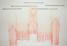 Did you see our Wedding Party with West Elm last week and catch the ombre macrame hangings? Well today we're sharing how you can make your own at home, thanks to the designer Laura Stewart Design! These would look so perfect as a backdrop in the bedroom, living room, or boho decor for your wedding! Lots of...