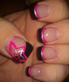 nails 45 Flirty Spring Nail Art Ideas for Nail Polish Addicts . Get Nails, Fancy Nails, Love Nails, Trendy Nails, How To Do Nails, Hair And Nails, Stylish Nails, Pink Nails, Matte Nails